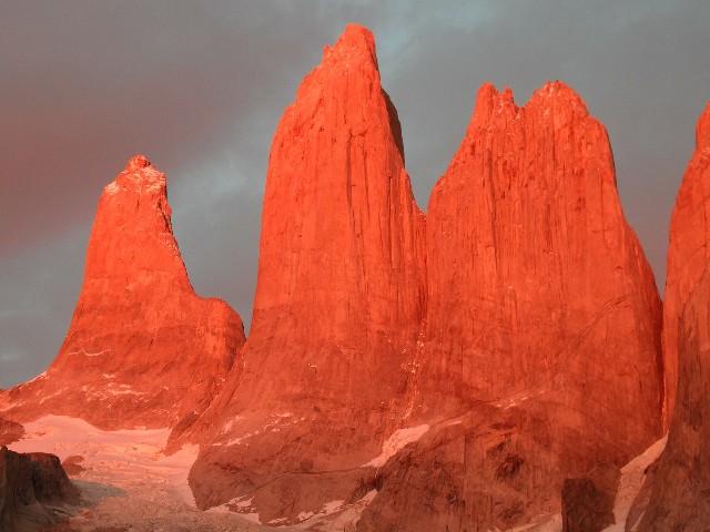 טיול לארגנטינה וצ'ילה, שמורת טורס דל פיינה