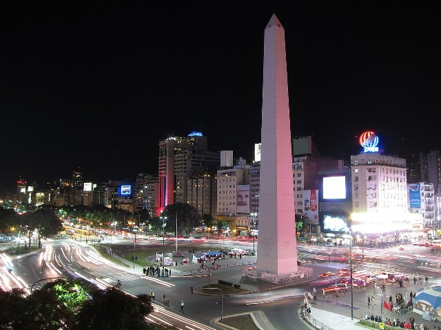 טיול לארגנטינה, מרכז בואנוס איירס