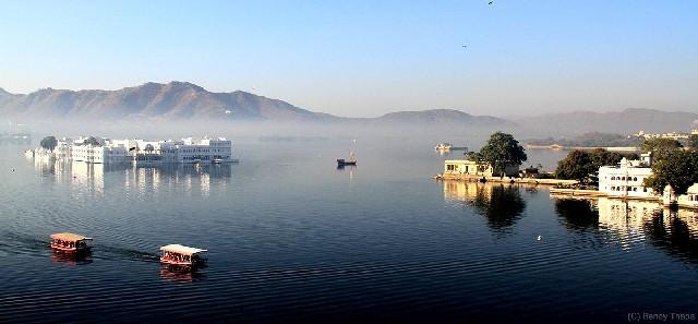 טיול להודו רג'סטאן, אגם אודאיפור