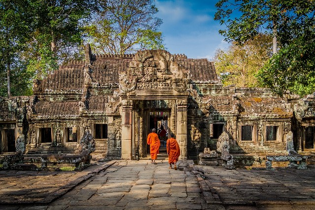 טיול לויאטנם וקמבודיה, אנגקור, מקדשים