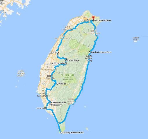 טיול לטאיוואן 11 ימים