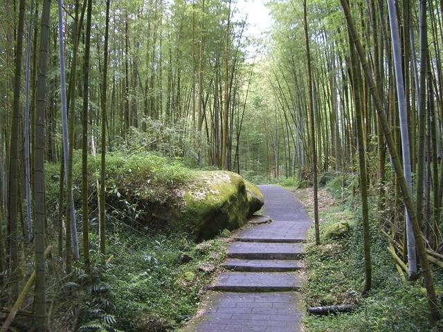 טיול לטאיוון, שביל במבוקים