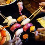טיול ליפן אוכל, סושי