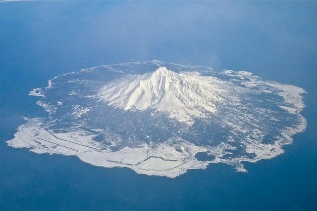 טיול ליפן הוקאידו, הר רישירי,