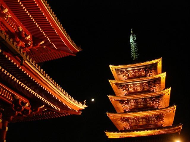 טיול ליפן טוקיו מקדש סנסוג'י