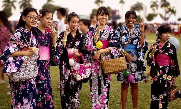 טיול ליפן למשפחות , קימונו