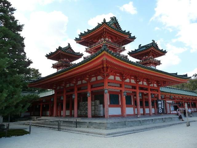 טיול ליפן קיוטו, מקדש היינאן