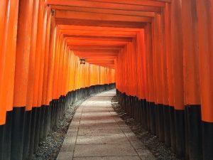 טיול ליפן קיוטו, מקדש פושימי אינרי