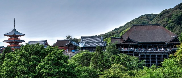 טיולים ביפן קיוטו, מקדש קיומיזו-דרה