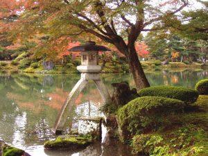 טיול ליפן, קנזאווה, גן קן רוקו אן