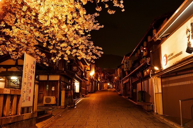 טיול ליפן, רחוב בקיוטו