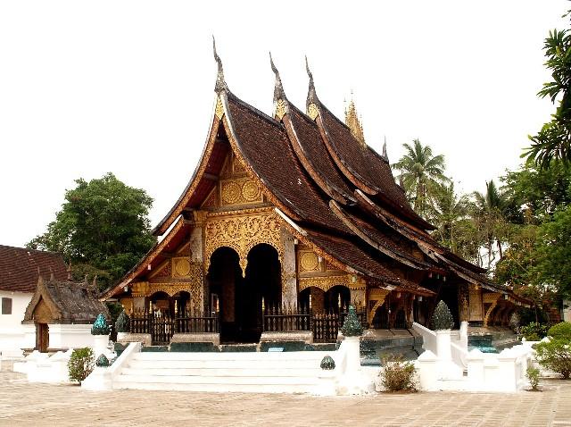 טיול ללאוס, מקדש בלואנג פרבאנג