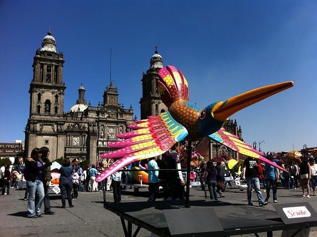 טיול למקסיקו, כיכר העיר מקסיקו סיטי