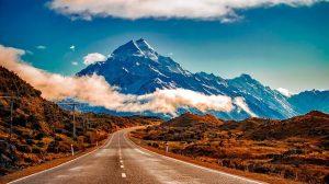 טיול לניו זילנד האי הדרומי, הדרך להר קוק