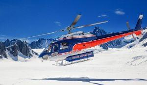 טיול לניו זילנד האי הדרומי, טיסה והליכה על קרחון פרנץ ג'וסף