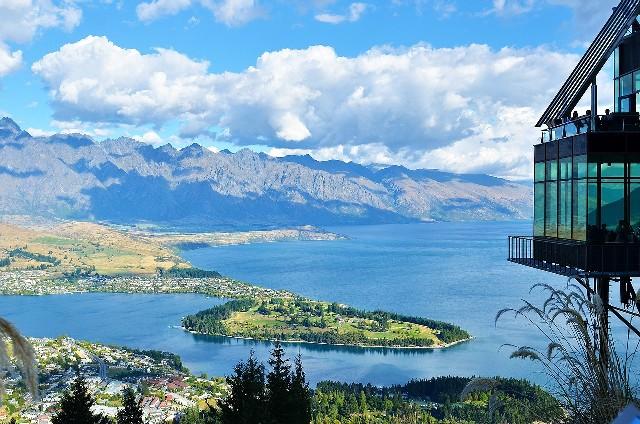 טיול לניו זילנד האי הדרומי, תצפית על קווינסטאון