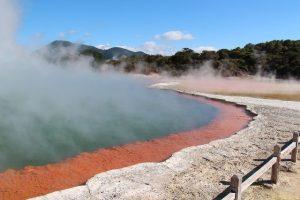 טיול לניו זילנד האי הצפוני, רוטורואה הפארק הגעשי