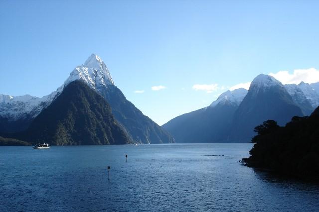 טיול לניו זילנד, מילפורד סאונד
