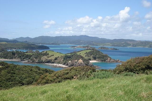 טיול לניו זילנד עם רכב, מפרץ האיים