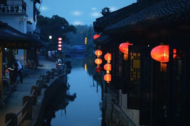 טיול לסין, עיירת המים ג'ואוג'ואנג