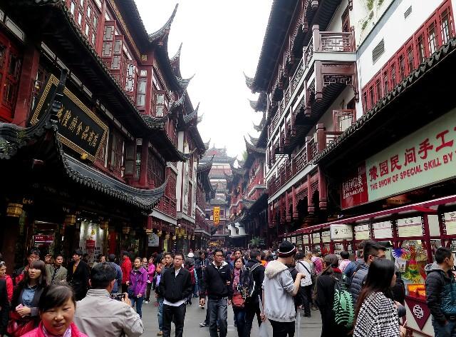 טיול לסין שנגחאי השוק העתיק