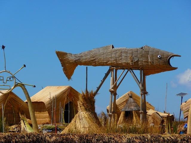טיול לפרו, אגם טיטיקקה, האיים הצפים