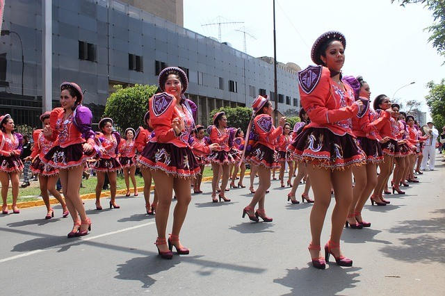 טיול לפרו, לימה, ריקודי רחוב
