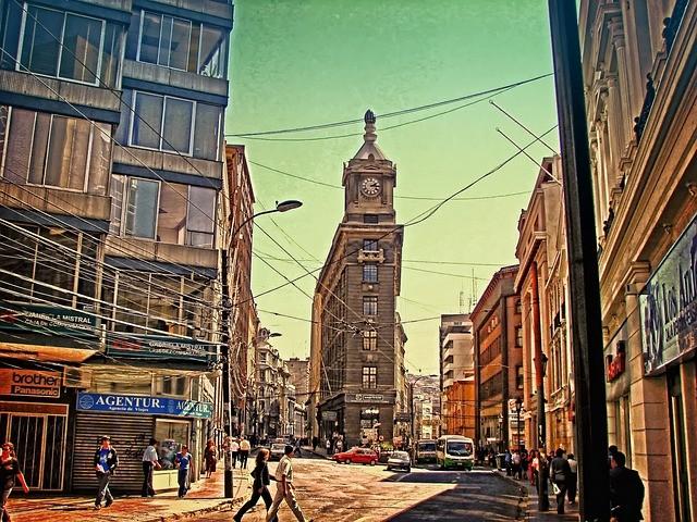 טיול לצ'ילה וארגנטינה, סאנטיאגו דה צ'ילה