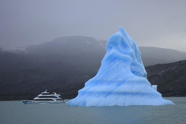 טיול לצ'ילה וארגנטינה, שייט קרחונים