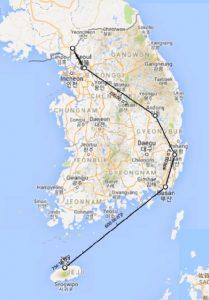 טיול לקוריאה