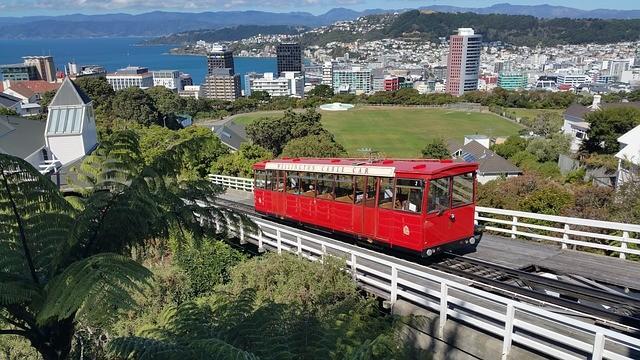 טיול ניו זילנד האי הצפוני, טראם, וולינגטון