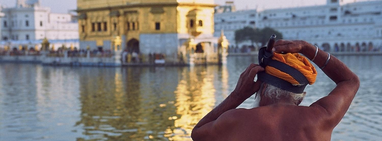 טיול להודו - איש העולם