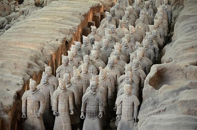 טיול לסין, חיילי הטרה קוטה