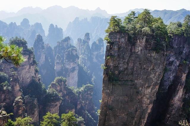 טיול לסין, שמורת אוואטר, ג'אנג'יה ג'יה
