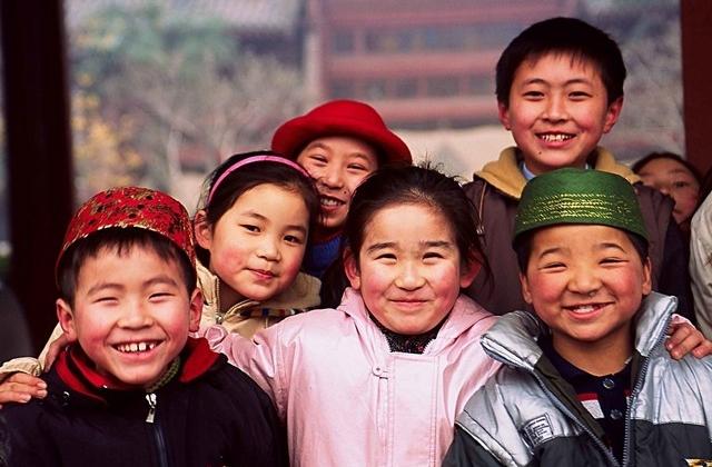 טיול לסין, ילדים בשיאן