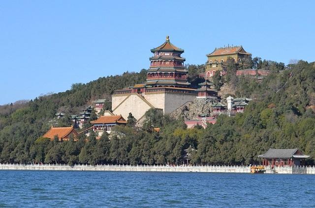 ארמון הקיץ בבייג'ינג, טיול לסין