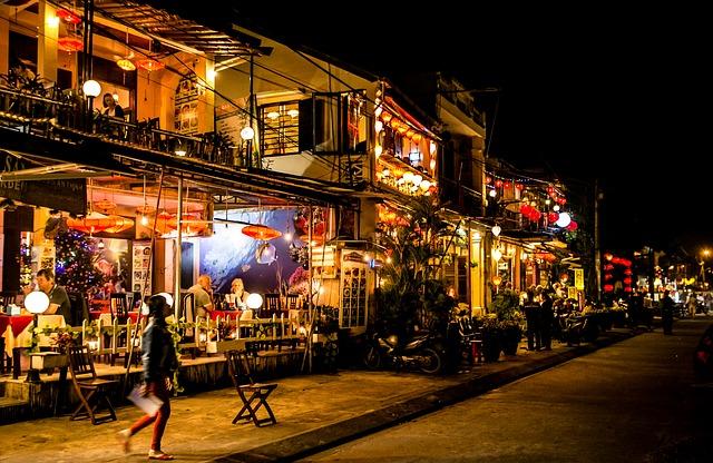 הוי אן בערב, טיול לוייטנאם