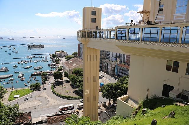 מעלית לעיר התחתית, סלבדור, טיול לברזיל
