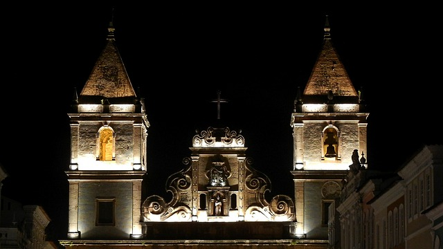 פלוריניו בלילה, סלבדור, טיול בברזיל