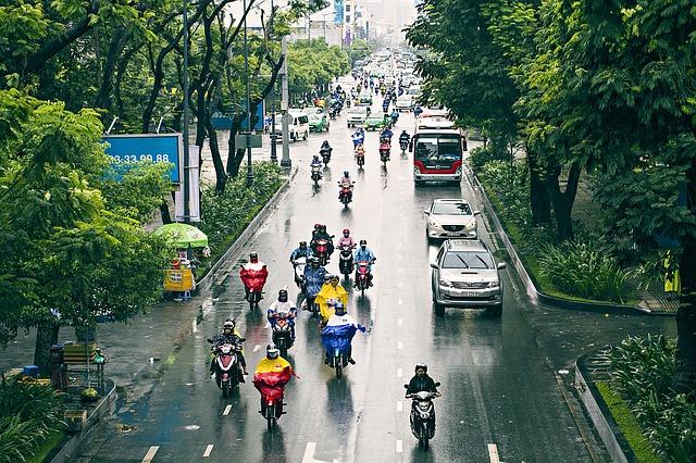 רחוב בסייגון, טיול לוייטנאם