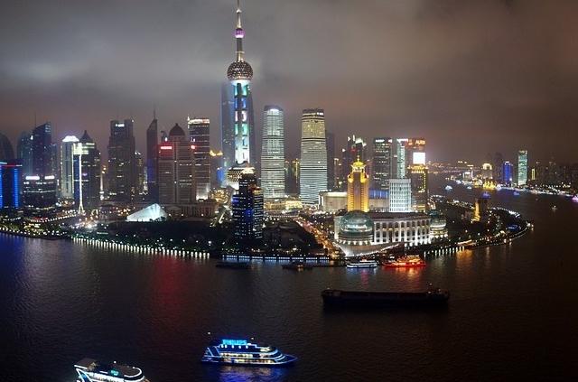 שנגחאי, שייט על הנהר
