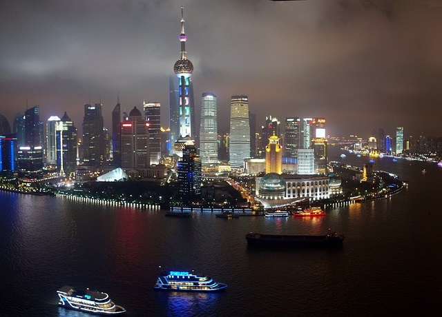 שאנגחאי, שייט על הנהר