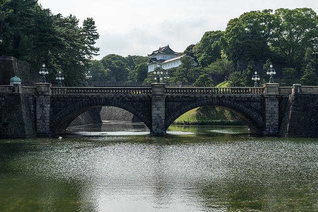 ארמון הקיסר, טוקיו, טיולים ביפן
