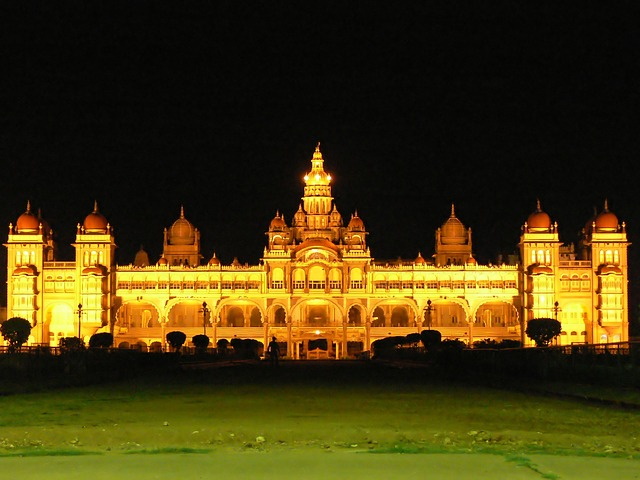 ארמון מייסור, טיול לדרום הודו