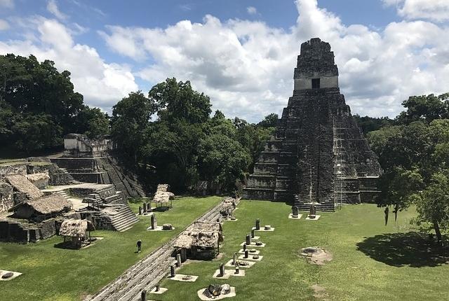 אתר המאיה טיקאל, טיול לגואטמלה