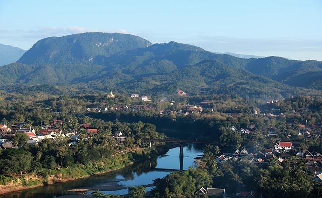טיול ללאוס, נוף מלואנג פרבאנג