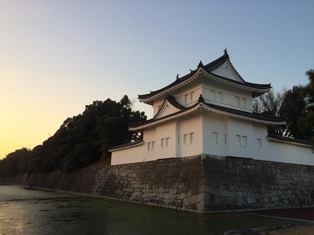 טירת ניג'ו, טיול ליפן