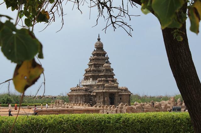 מאהאבאליפורם, טיול לדרום הודו