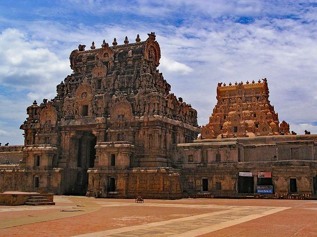 מקדש בריהדישווארה, טיול לדרום הודו
