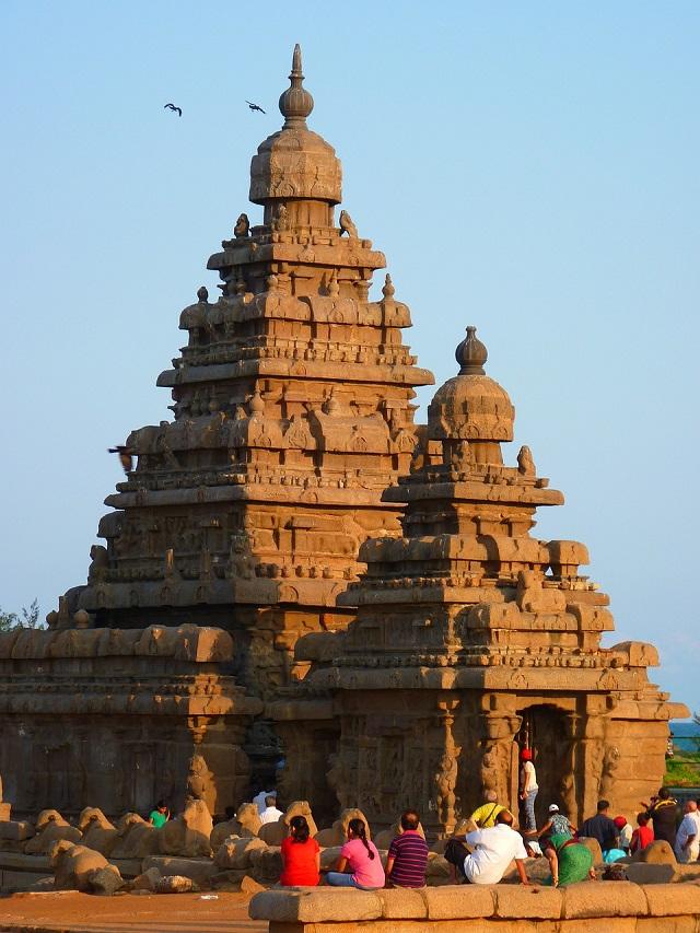 מקדש החוף, מאהאבאליפורם, טיול לדרום הודו
